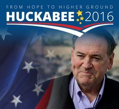 Mike Huckabee is running for for President. Learn more at mikehuckabee.com. #Huckabee2016