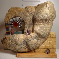 Ammonit Franken Jura Malm Grabwächter des Pharaos