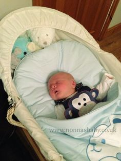 "Little Oscar Loves His Blue Bear Nap Mat!!! Cute baby Oscar is so comfy and happy in his nap mat. Mum Davina told us ""Little Oscar is 3 wks old and loves it loads. Best thing I've bought him brill for pram and Moses basket""  Nonna is delighted! :-)"