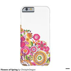 Flowers of Spring Barely There iPhone 6 Case