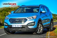 Hyundai Santa Fe is a premium SUV that drives extremely well. Hyundai Suv, Santa Fe, 4x4, Mercedes Benz, Competition, Classic Cars, German, African, Image