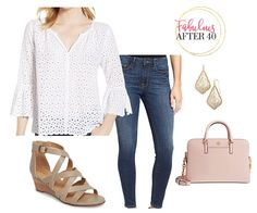 10 Clever Ways to Cover Flabby Arms in Summer – Fabulous After 40 Summer Outfits Women Over 40, Fashion For Women Over 40, Ethnic Outfits, Fashion Outfits, Fashion Tips, Fashion Trends, Fashion Styles, Teenager Outfits, Retro Fashion