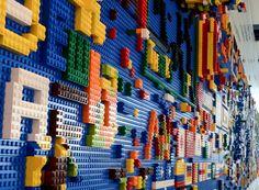 Znalezione obrazy dla zapytania lego on the wall