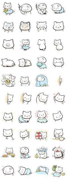 画像 - Negative cat (syobonyan) by Kikka - Line.me