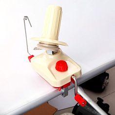 Docooler® Hand-Operated Yarn Winder Fiber Wool Machine New Type Fast String Machine