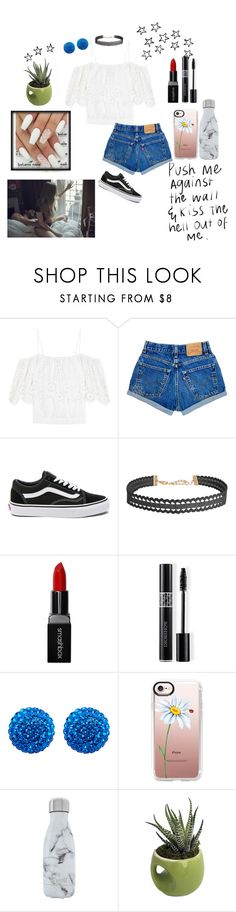 """She's so high above me, she's so lovely 😙"" by mystical-dimples ❤ liked on Polyvore featuring Ganni, Vans, Humble Chic, Smashbox, Christian Dior, Henri Bendel, Casetify and S'well"