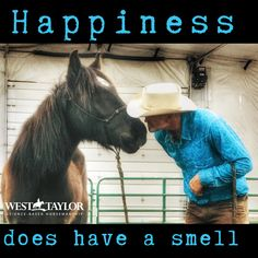Happiness does have a smell and for me it is horses. Wild West, Mustang, Ranch, Happiness, Science, Horses, Happy, Animals, Guest Ranch
