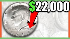 These are coin values for the 1964 Half Dollar. We look at Kennedy Silver Half Dollars worth money. These rare error coins are the coins to look for when coi. Dollar Coin Value, Rare Coin Values, Old Coins Worth Money, Valuable Coins, Kennedy Half Dollar, Coin Worth, Error Coins, Coin Collecting, Silver Coins