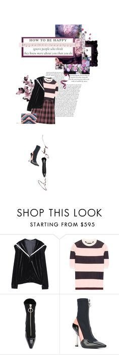 """"""":)"""" by opal2635 ❤ liked on Polyvore featuring Marni, Versace and Lanvin"""