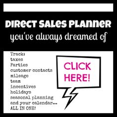 The direct sales planner of your dreams! Track your business!  Melissa Fietsam Ind. Senior Executive Diretor at Thirty-One Gifts www.buymybags.com  direct sales planner arc calendar