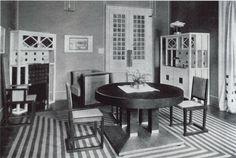 Risultati immagini per wiener werkstätte Joseph Hoffman, Art Nouveau, Vienna Secession, Interior Decorating, Interior Design, Interior Ideas, French Interior, Apartment Design, Art Deco Fashion