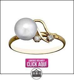 Sortija oro 18k perla botón 6.5mm. primera comunión [AA6729]  ✿ Joyas para niñas - Regalos ✿ ▬► Ver oferta: https://comprar.io/goto/B06XNSDM2R