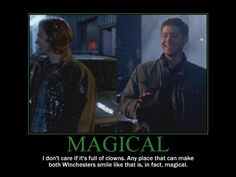 Magical | via Winchester Family Business