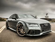 Visit The MACHINE Shop Café... ❤ Best of Audi @ MACHINE... ❤ (One Beautifully Styled Audi RS7)