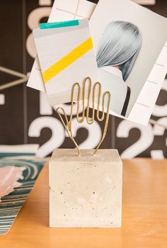 Oh, Make Me Over: A Modern DIY Desk Accessory