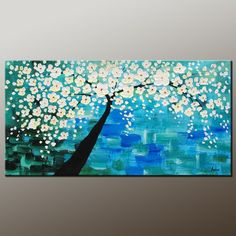 PAINTING: Blossoming Tree