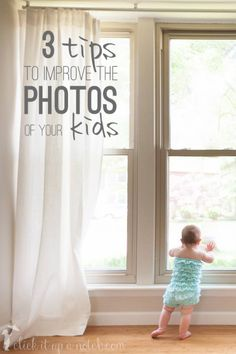 Use these 3 tips to capture those memories and improve the photos of your kids.