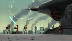 Tagged with star wars, movies and tv; Some gifs from Star Wars: Clone Wars Hq Star Wars, Star Wars The Old, Star Wars Fan Art, Star Wars Clone Wars, Republic Commando, Star Wars Novels, Battle Droid, Star Wars Poster, Clone Trooper