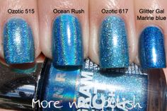 Layla holo comparisons and group order for Aussies | More Nail Polish
