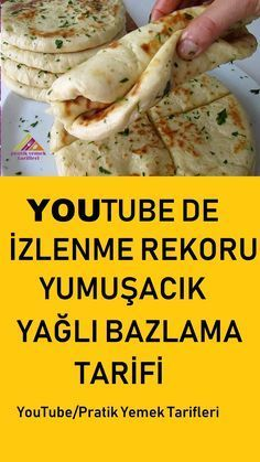 Yumuşacık Balon Bazlama Tarifi / Pratik Yemek Tarifleri How to make a balloon-like basing soft-touch basing with all the tricks in our video Pizza Recipes, Bread Recipes, Baking Recipes, Fast Recipes, East Dessert Recipes, Easy Desserts, Mousse Au Nutella, Breakfast Items, Turkish Recipes