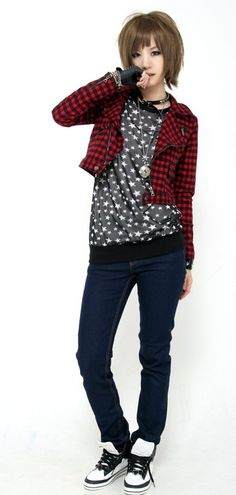 Cute jacket. I could wear this and not look like a slob in my slob clothes.