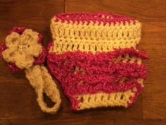 READY TO SHIP Crocheted Diaper Cover Set by CrochetedKreeations, $8.00