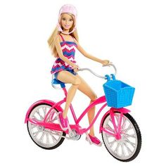 Barbie Glam Bike and Doll