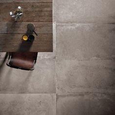 Carrelage sol et mur taupe effet béton Harlem l.60 x L.120 cm | Leroy Merlin