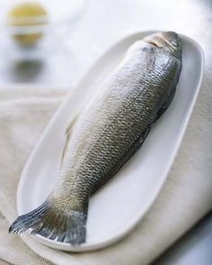 A centrepiece: Serving a whole fish can add a sense of occasion.