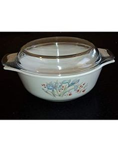 Pyrex England Ovenware Covered Casserole. ** Check out the image by visiting the link. We are a participant in the Amazon Services LLC Associates Program, an affiliate advertising program designed to provide a means for us to earn fees by linking to Amazon.com and affiliated sites. Bakeware, Program Design, Pyrex, Casseroles, Crockpot, Slow Cooker, Advertising, England, Kitchen Appliances