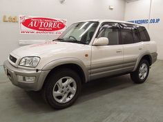 Japanese vehicles to the world: 1999 Toyota RAV4 Type G 4WD for Tanzania to Dar es...