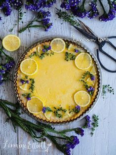 But Sweet: Simple Lemon Tart A Lemon Tart centerpiece, decorated with seasonal, thematic flowers. Who wouldn't love this spring dessert?A Lemon Tart centerpiece, decorated with seasonal, thematic flowers. Who wouldn't love this spring dessert? Spring Desserts, Lemon Desserts, Dessert Recipes, Desserts Citron, Easy Lemon Tart Recipe, Lemon Tarte Recipe, Tart Crust Recipe, Tarts Recipe, Lemon Filling
