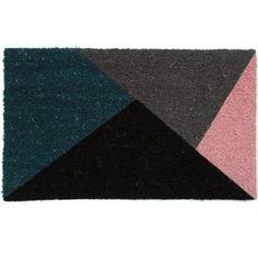 Triangles Coir Mat