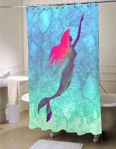 Disneyu0027s The Little Mermaid Shower Curtain Customized Design For Home Decoru2026