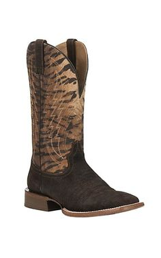 8fc5393de2e Ariat Men's Barstow Brown with Dark Brown with Tan Inlay Upper ...