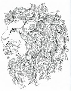 ❀❁இ~ Zentangle ~❁❀இ Flower Coloring Pages, Animal Coloring Pages, Coloring Book Pages, Printable Coloring Pages, Coloring Sheets, Print Pictures, Colorful Pictures, Zentangle, Book Cafe