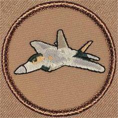 Raptor F22 Aircraft Patrol Patch (#188)