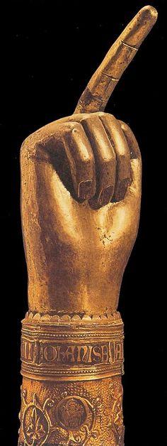 Arm Reliquary 15th century Gold and precious stones Cathedral Treasury, Zara