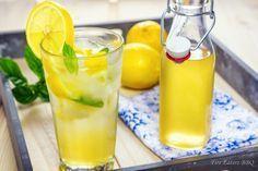 Zitronensirup - eine erfrischende Form der Resteverwertung