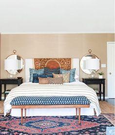 How to convert your room in Bohemian bedroom - TerminARTors