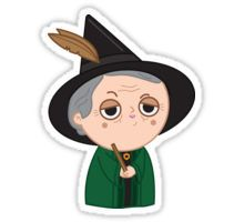 Professor McGonagall Sticker