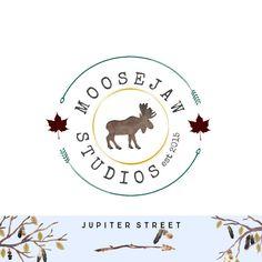 Logo Design-Animal Logo-Leave Logo-Small by JupiterStreetDesigns