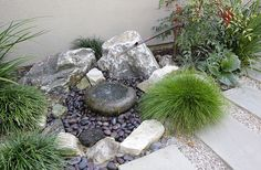 Small Rock Garden Ideas | Tranquil Japanese Garden by Freidin Design and Construction | Flickr ...