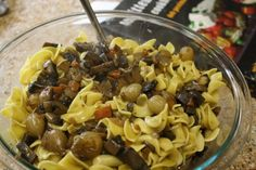 mushroom bourguignon from the kosher foodies