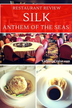 Anthem of the Seas Restaurant Review of the Asian inspired Silk- Complete with…