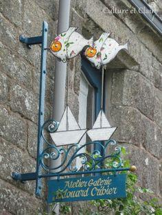 Locronan in Brittany, France