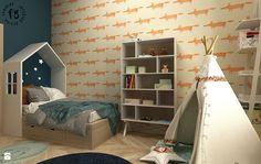 Pokój Jasia - zdjęcie od Femberg Architektura Wnętrz - Pokój dziecka - Styl Skandynawski - Femberg Architektura Wnętrz Interior Design, Design Interiors, Home Interior Design, Interior Architecture, Home Decor, Home Interiors, Interior Decorating