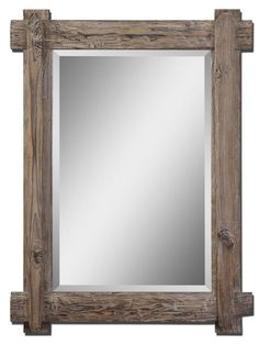 Uttermost - Claudio Wood Mirror - 07635