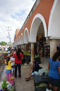 Valladolid mexico market