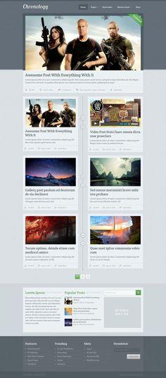 Chronology #WP #Theme  #WPTheme #WebDesign #Responsive #Magazine  #Stylebook  | #WPThemeHouse